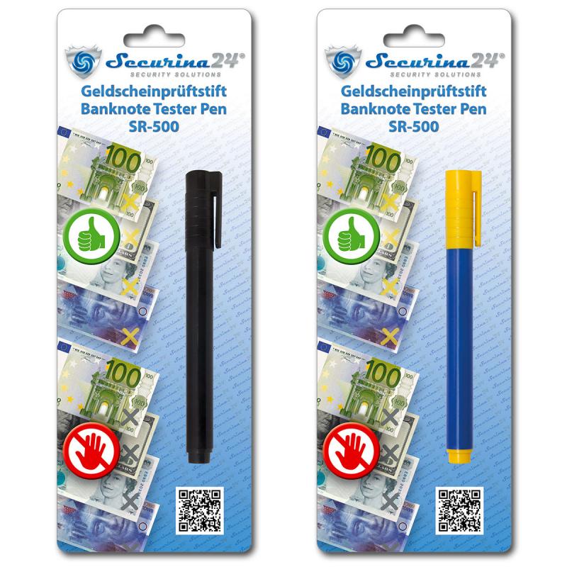 Geldprüfstift SR-500 - 20er Pack