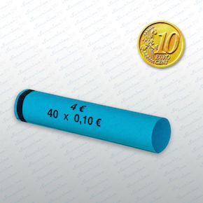Münzhülsen - 10 Cent Großpackung 2700 Stück