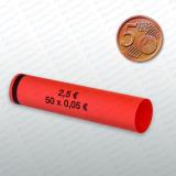 Münzhülsen- 5 Cent 300Stück  SR-30005